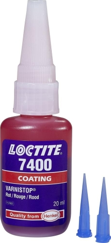Loctite 7400, Varnistop 20g, rot