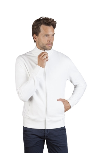 Men´s Jacke Stand - Up white Gr.S-3XL