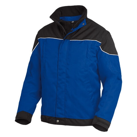 FHB Arbeitsjacke (2 in1) TOM royal/schwarz S-3XL